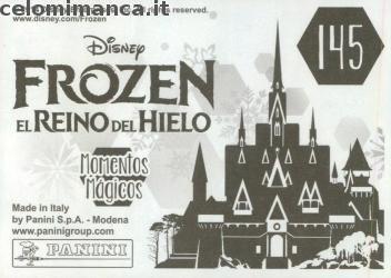 Frozen 2 - Momenti Magici: Retro Figurina n. 145