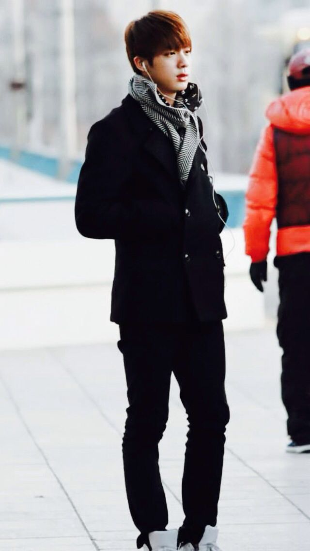 Bts Jin I Love This Outfit | Bangtanboys