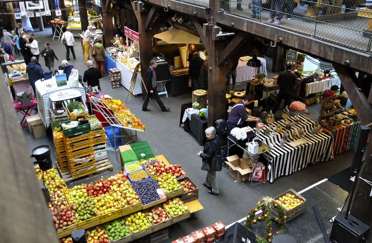 Marktzeit in der Fabrik