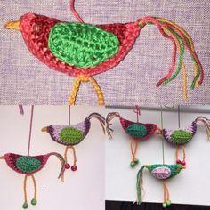 gehäkelte Vögelchen, Vogel, häkeln, eine Anleitung von Johanni2801