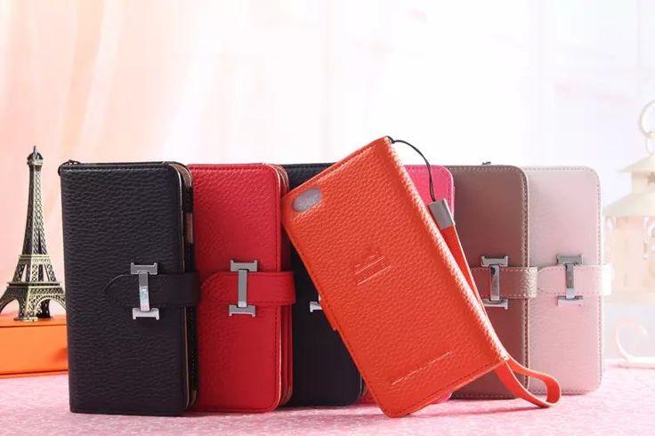 エルメス iphone7 スマホケース ブランドHermes iphone SE/6s/6/5s 手帳ケース カード ...
