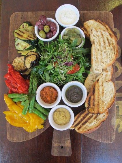 Mediterranean platter - Avoca - Dublin - Ireland
