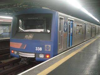Pregopontocom Tudo: Trem do metrô descarrila nas proximidades da Estação Corinthians-Itaquera em SP...