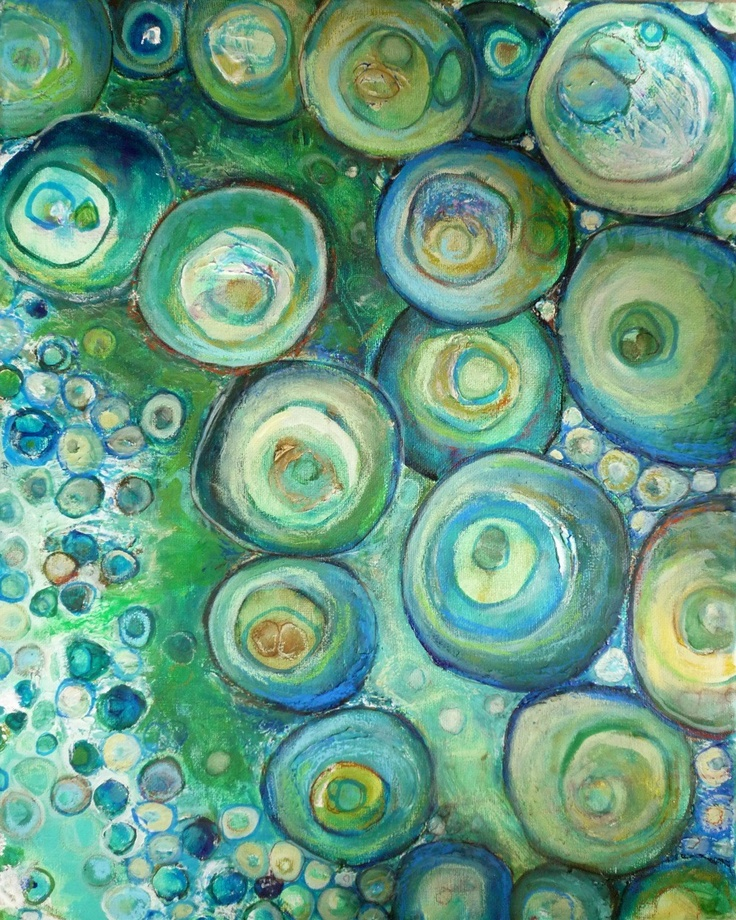 The Edge of the Deep Green Sea, Fine Art Giclee Print 11 x 14. $35.00, via Etsy.