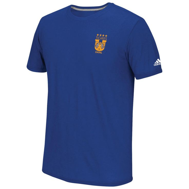 Tigres UANL adidas Go To Performance Team Crest T-Shirt - Blue -