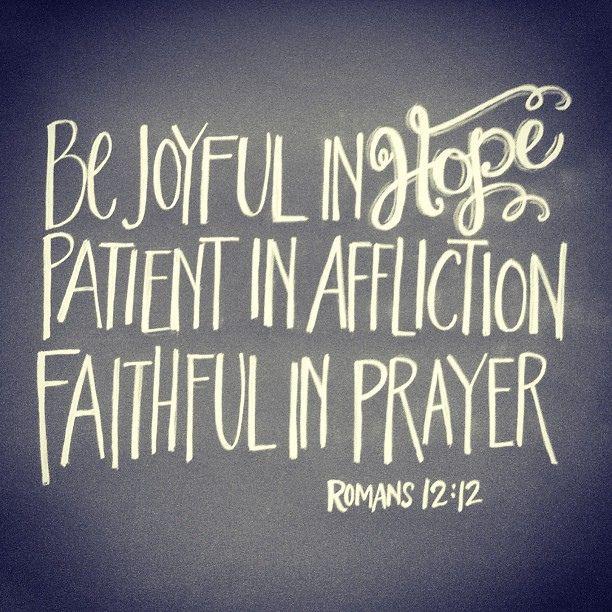 {Romans 12:12}