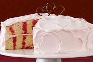 Gâteau à trous <i>Jell-O</i>