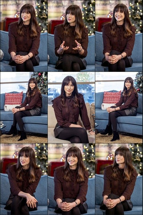 Caitriona Balfe of Outlander_Starz TV series, on the UK This Morning show - December 12th, 2017