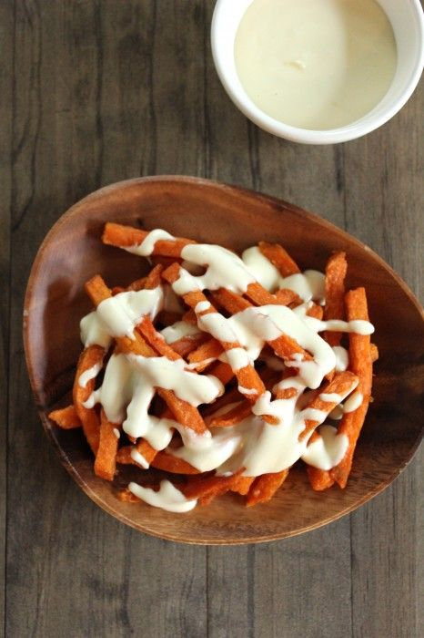 Sweet Potato Cheese Fries [Healthy Food for Living]