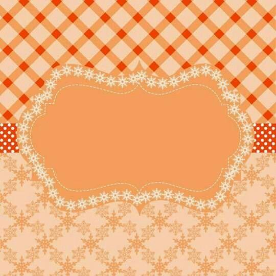 Etiqueta naranja