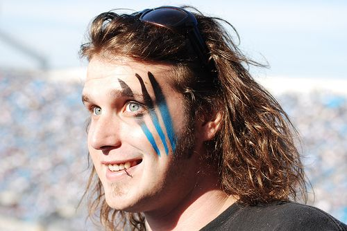 carolina panthers face paint - Yahoo Image Search Results