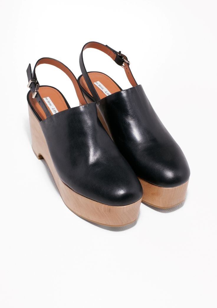& Other Stories | Wooden Wedges