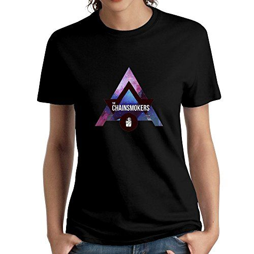 The Chainsmokers Triangle Logo Unique Women's T-shirt ...