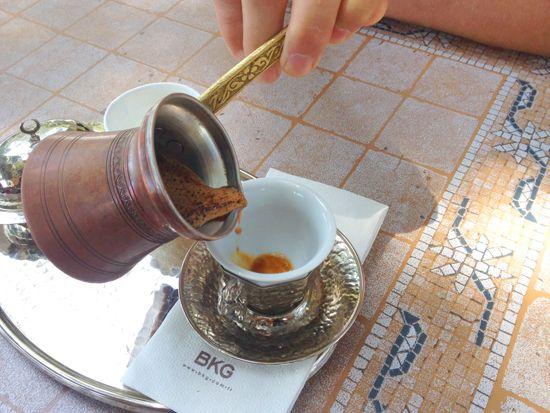 Pausa para o café - Um café turco, por favor! - Casa de Amados