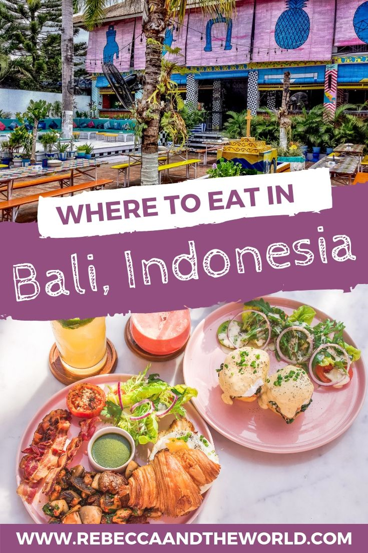 Where To Eat In Bali Indonesia Avec Images Cuisine Du Monde Cuisine