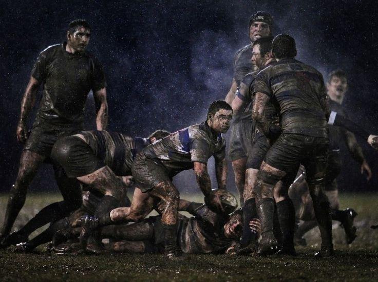 """2e PRIX """"SPORT"""". Match de rugby entre Old Belvedere et Blackrock à Dublin, en Irlande, le 5 février."""