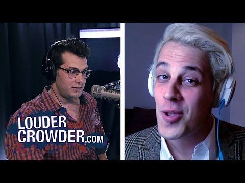 Milo Yiannopoulos Educates Crowder on #GamerGate and Feminism » Louder With Crowder