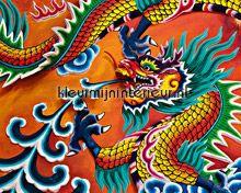Dragon fotobehang Ideal Decor Oosters Trompe loeil