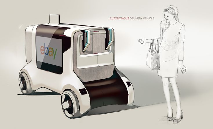 Autonomous delivery vehicle and the system for Seoul Korea