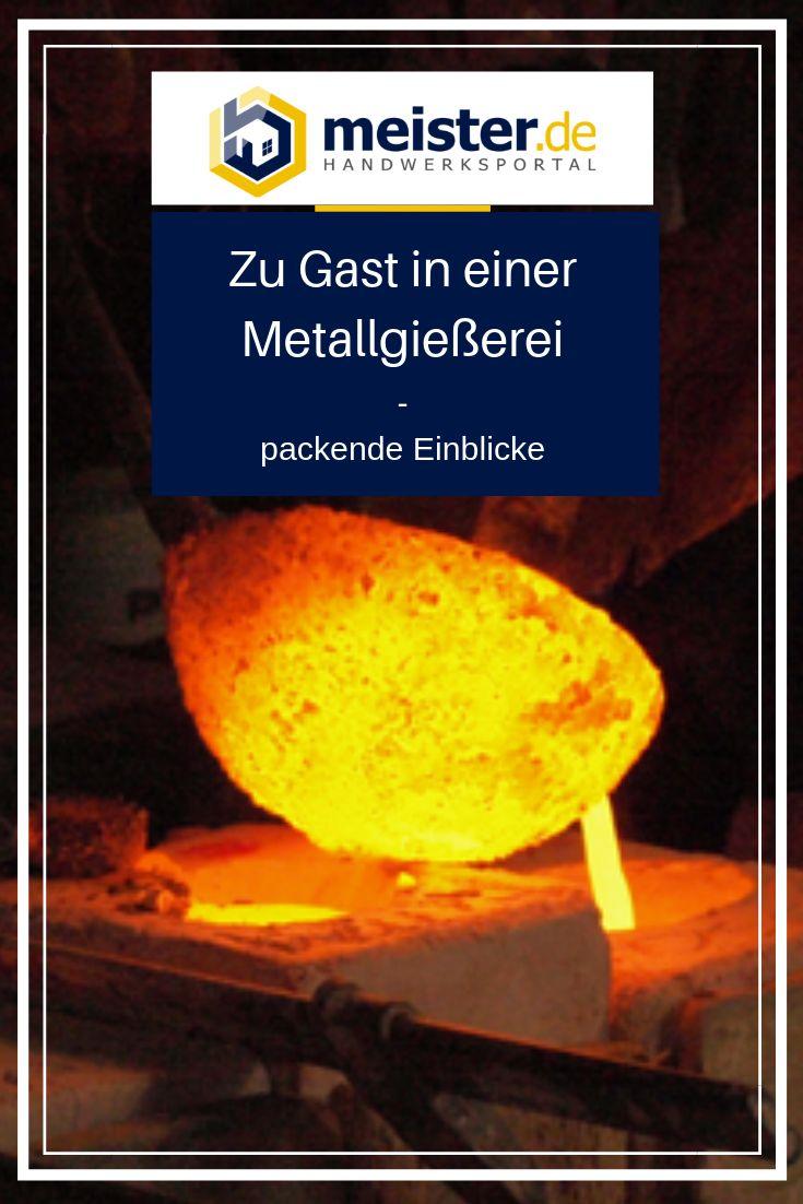 Die Verwandlung von Stein in Bronze: Zu Besuch in der Metallgießerei