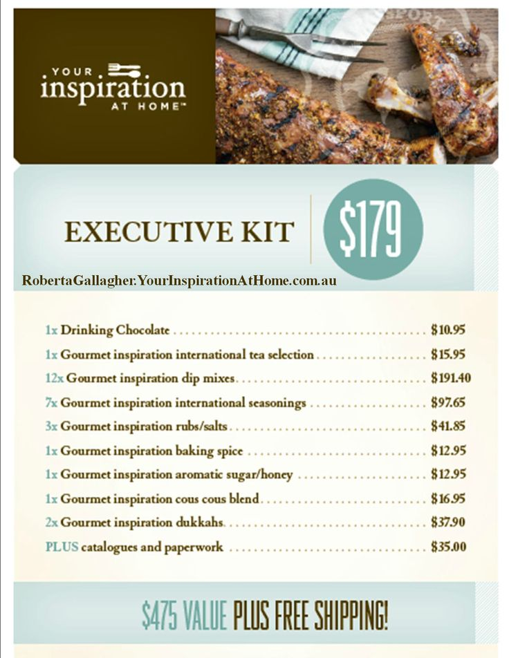 Start your Your Inspiration at Home business with a bang with the $179 Executive Kit! #YIAH #directsales #opportunity #kit