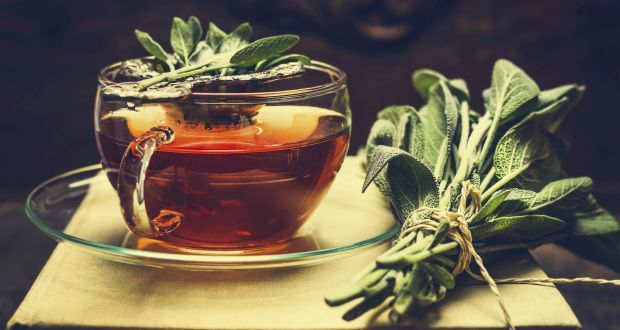 Sage tea or gargleSage is also an astringent that can work on reducing the swelling. Plus, its phenolic acids are beneficial for targeting throat bacteria. Both features help ease the scratchy sensation in the throat and subside the pain. To make a tea, pour one cup of boiling water over 2 teaspoons of fresh or dried sage leaves. Let steep for a few minutes and strain. To improve taste, add honey or lemon and enjoy the tea. The brewed concoction may also be used as a throat gargle.