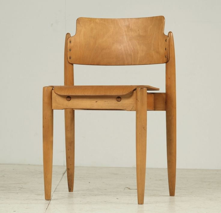 Rare pair stackable Tapiovaara 'Wilman' chairs | From a unique collection of antique and modern chairs at http://www.1stdibs.com/furniture/seating/chairs/