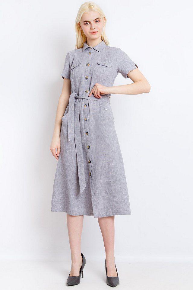 62562c5e1e6 Finn Flare Kleid mit tollem Bindeband in 2019