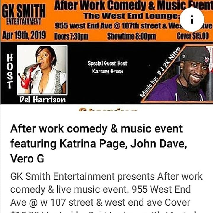 New The 10 Best Home Decor With Pictures Gk Smith Entertainment Presents After Work Comedy Live Music Event Live Music Events Music Event Comedy Music