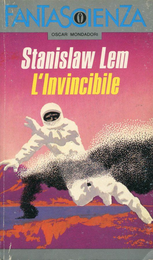 """Illustrazione di Karel Thole per """"L'invincibile"""", Oscar Mondadori 1990. #Mondadori #Fantascienza #KarelThole"""