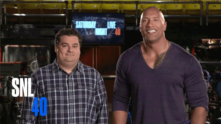 SNL Host Dwayne Johnson and Bobby Moynihan Reveal Their Porn Star Names.  SNL airs tonight at 11:30 p.m. on 21 WFMJ.