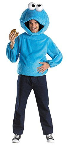 UHC Mens Plush Cookie Monster Teen Funny Theme Party Adult Halloween Costume Teen 3840 >>> Learn more by visiting the image link.
