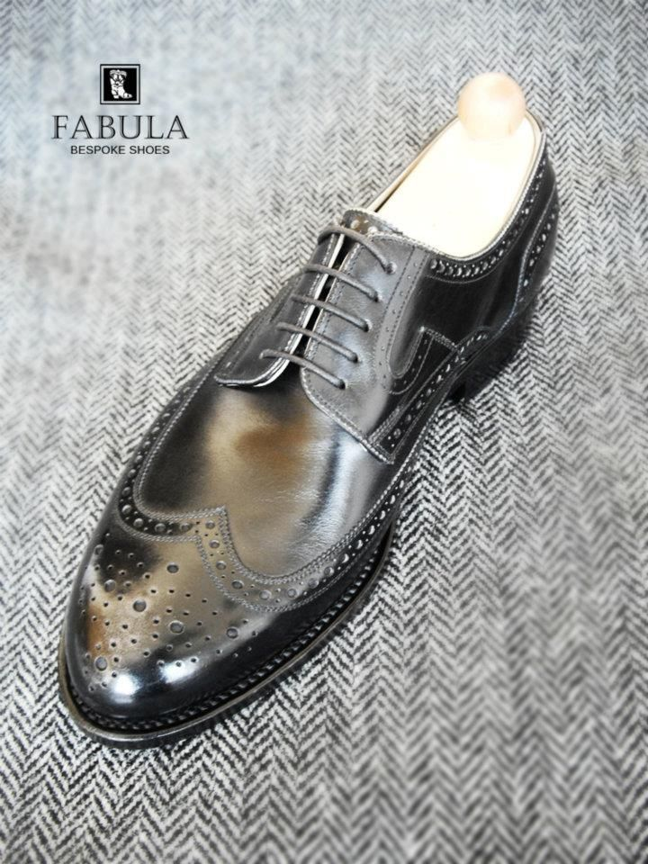 Fabula Bespoke Shoes. Unique handmade, bespoke men's shoes. Modell: Budapest modell. Look to my website: www.fabulashoes.hu