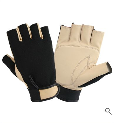 Anti Vibration Gloves Art No: KLI-5006 Size: S/M/L/XL MOQ: 10 Piece  Description: Finger Less Glove Palm GoatSkin Leather With Gel Padding Elastic & Velcro Closure.  For Sample & Custom Anti Vibration Gloves Order PM Or Email Us shafique@klinds.com  Website http://SafetyInStyles.com  #KLI5006 #KLI #KomarooLeatherIndustry #KomarooLeather #LeatherIndustry #AntiVibrationGloves #AntiVibration #Gloves #FingerLessGlove #FingerLess #Glove #PalmGoatSkinLeather #GoatSkinLeather #GelPadding #Elastic
