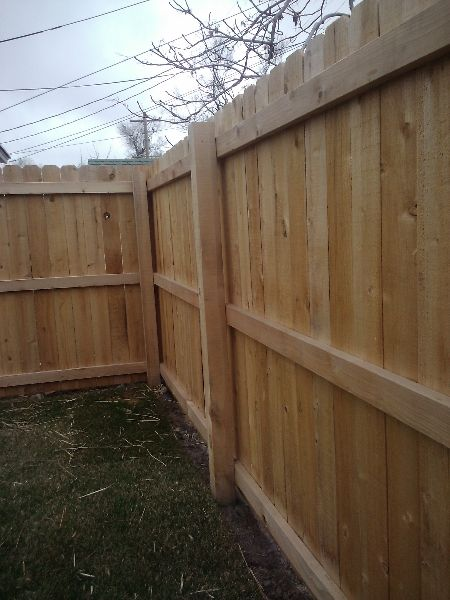 Dog Ear Fence Panels Cedar Slats National Fencing