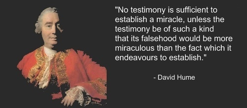 David Hume, Scots philosopher on miracles (With images ...