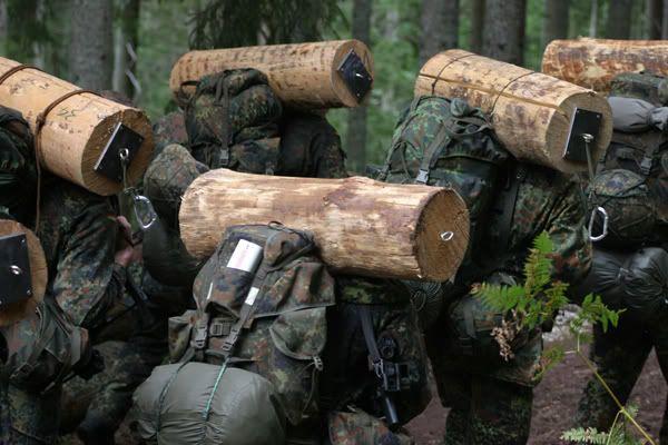 German Army SF KSK (Kommando Spezialkräfte) selection