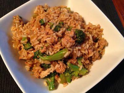 À porc egal: Sauce pour riz chinois