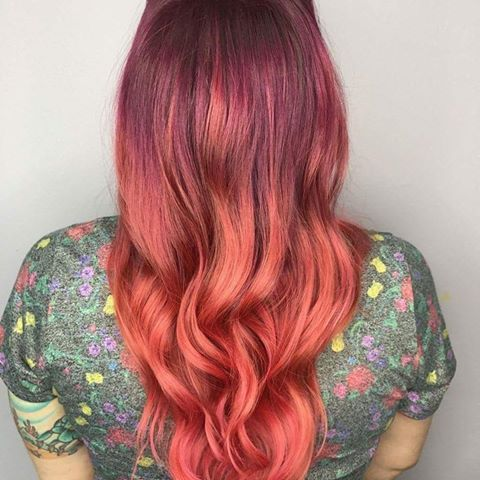 Gah!! I love @ladybeck77 hair!!! She's always such a dream!!!! ❤❤❤❤❤❤ #bkhairartistry #salonsbyjcaustin #kevinmurphygoldkey #goldkeyeducator #hairbrained_official #behindthechair_com #authentichairarmy #unicornhair #vividcolors #mermaidhair #licensedtocreate #professionalbeautyassociation #galaxyhair #haircolor #colorfulhair #brightandbeautiful #austinhairstylist #southaustinhairstylist #southaustin #independant #vividhair