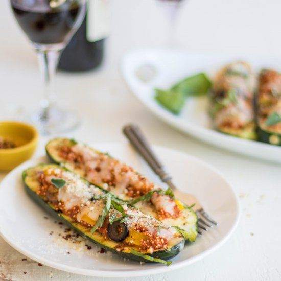 25+ best ideas about Grilled zucchini boats on Pinterest ...