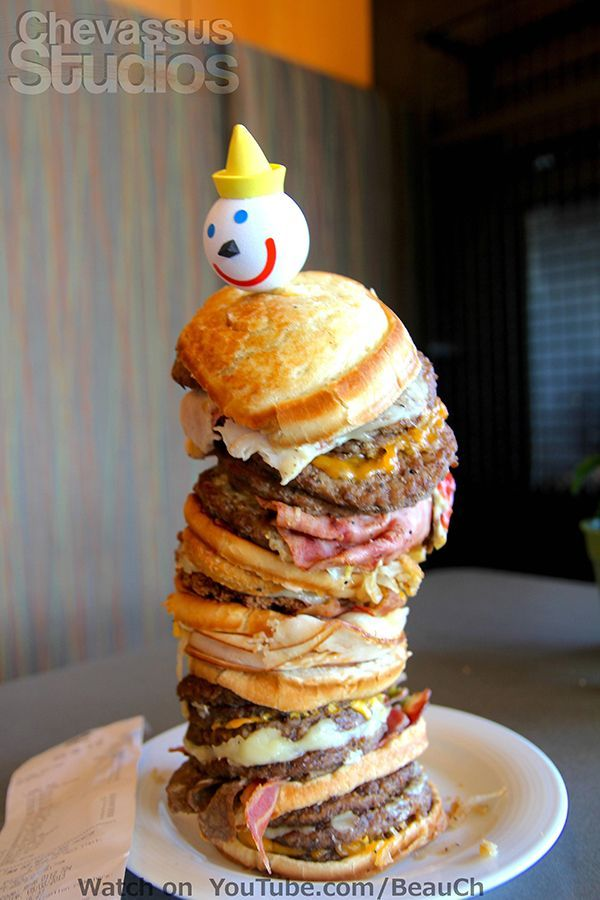 The World's Largest Fast Food Burger