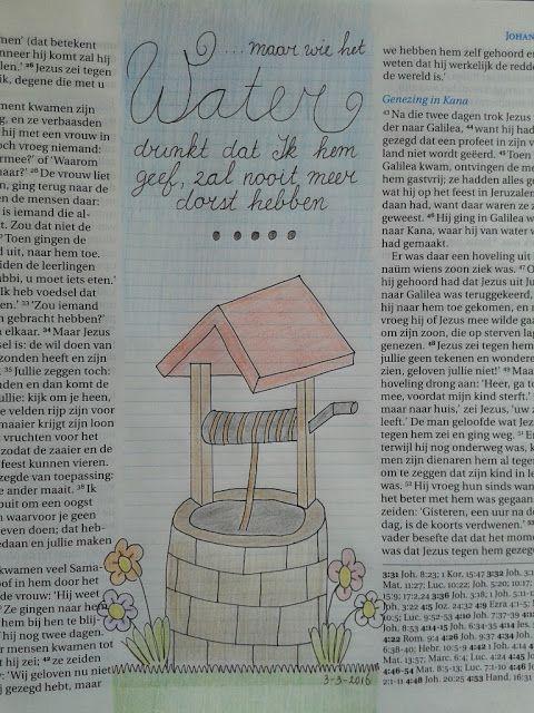 Uit Mijn Keukentje: Bible journaling, incl filmpje #3