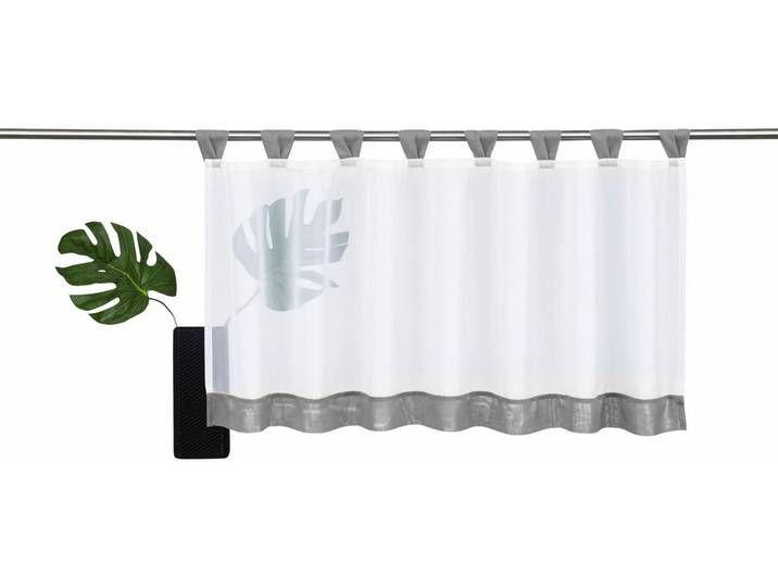 My Home Scheiben Gardine Grau Bitola Bitola Grau Home Scheibengardine In 2020 Curtains Modern Window Design Grey Bathrooms