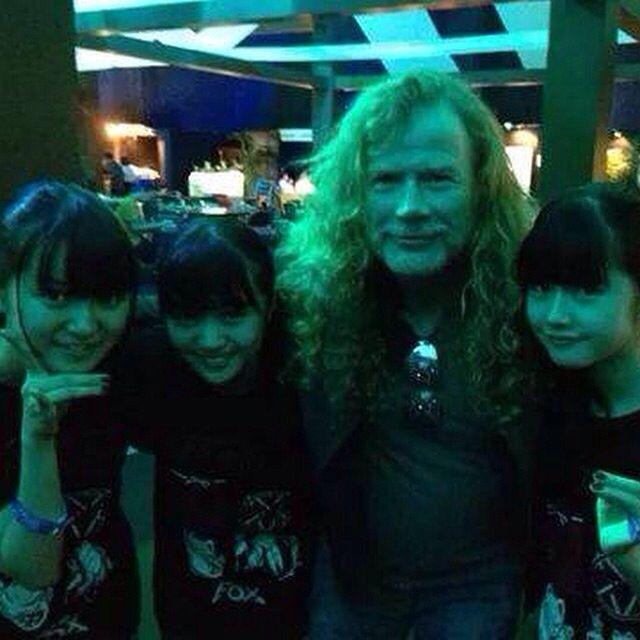 Babymetal & Dave / Megadeth