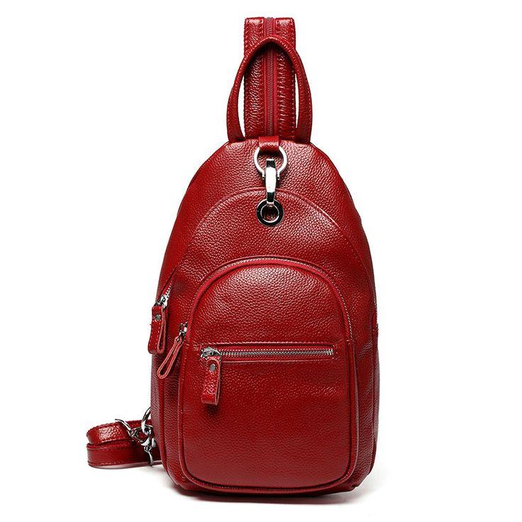 Bolsos de pequeñas mochilas de cuero chicas bolso hermoso pecho para las mujeres [VL10610] - €49.45 : bzbolsos.com, comprar bolsos online