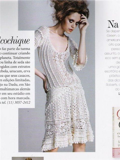 Crinochet: Vanessa Montoro's Charlotte Dress - with all the diagrams at source