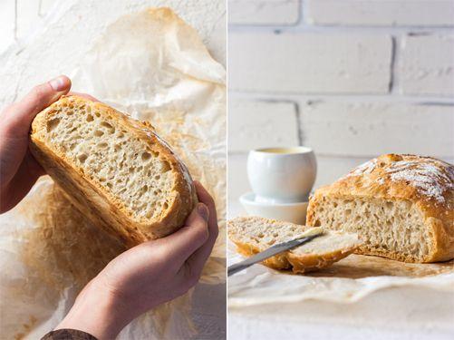 Recette de pain maison sans pétrissage, recette facile
