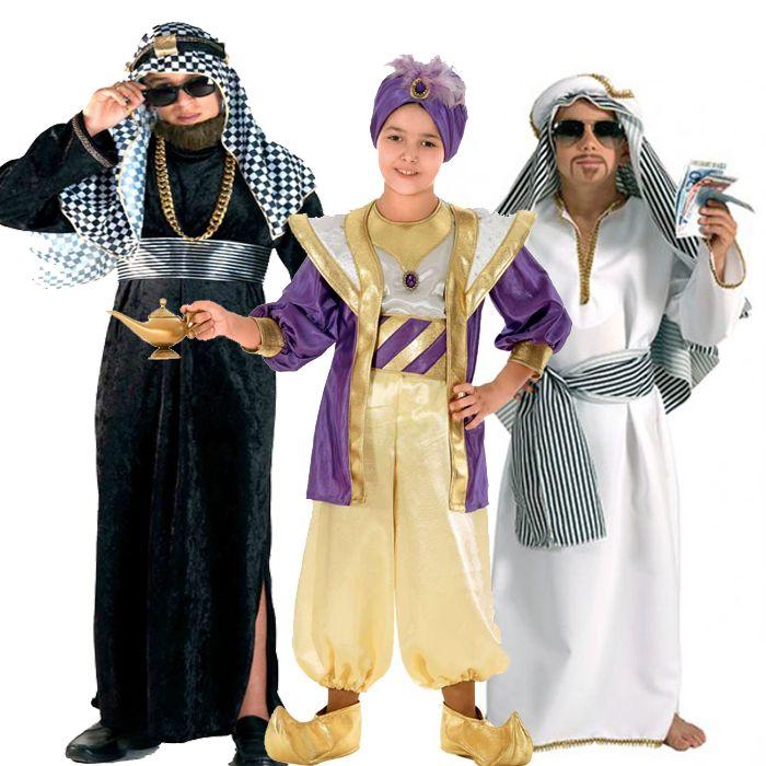 αποκριάτικες στολές για αγόρια - στολές Άραβα και Σεϊχη