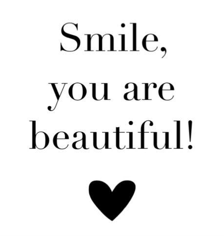 Smile, beautiful! ❥