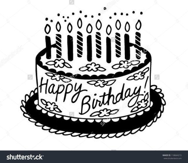 21 Awesome Image Of Black And White Birthday Cake Birthday Cake